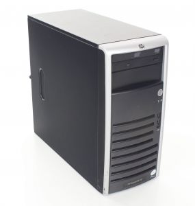 HP ML110G4 Xeon 3040 4GB 2x160GB HDD DVD