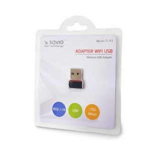 Adapter WiFi Elmak SAVIO CL-43