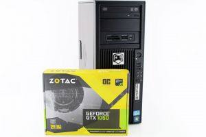 AZOT 04 Xeon E3-1225 3.1GHz 12GB RAM 500GB HDD GTX1050 2GB WIN 10 24 MIES