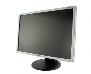 "Monitor Samsung SyncMaster SM 2443FW 24"" LCD"