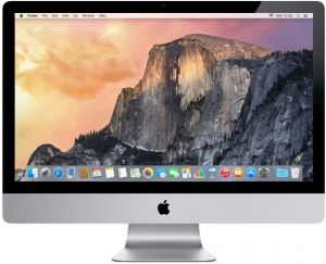 "APPLE iMAC 10.1 C2D E7600 3,06GHz 4GB RAM 500GB HDD 21,5"" 1920x1080 nVidia GeForce 9400M 256MB"